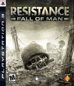 Box artwork for Resistance: Fall of Man.