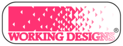 Working Designs's company logo.