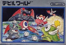 Box artwork for Devil World.