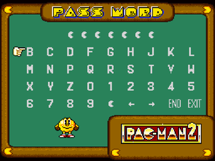 Pac-Man 2 Password Screen.png