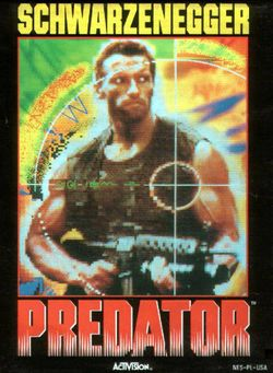 Box artwork for Predator: Soon the Hunt Will Begin.