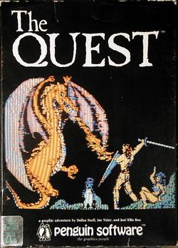 Box artwork for The Quest.