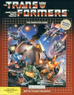 Box artwork for Transformers: Battle to Save the Earth.
