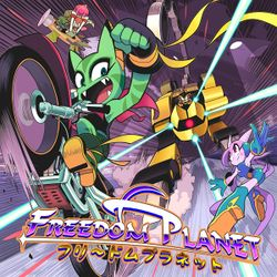 Box artwork for Freedom Planet.