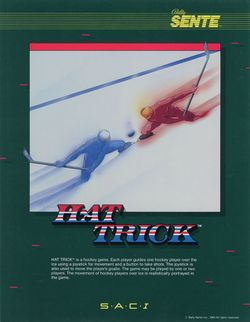 Box artwork for Hat Trick.