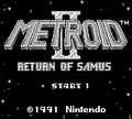 Metroid II title screen.png