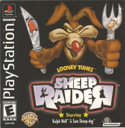 Box artwork for Looney Tunes: Sheep Raider.