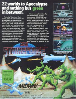 Box artwork for Strike Force.