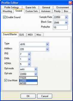 DOSBox/D-Fend Profile Editor — StrategyWiki, the video game