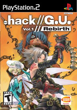 Box artwork for .hack//G.U. Vol. 1//Rebirth.