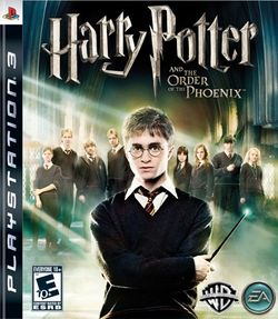 Box artwork for Harry Potter and the Order of the Phoenix.