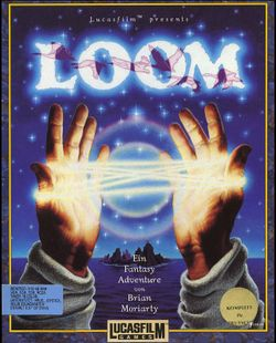 Box artwork for Loom.