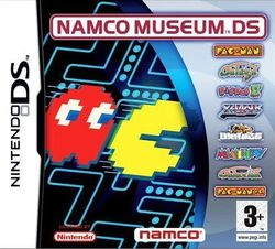 Box artwork for Namco Museum DS.
