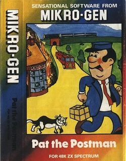 Box artwork for Pat the Postman.