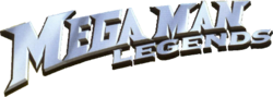 The logo for Mega Man Legends.