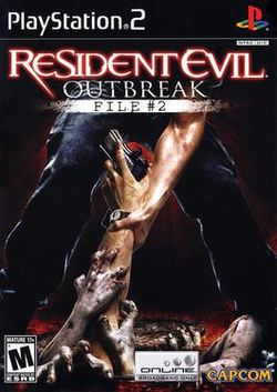 Box artwork for Resident Evil: Outbreak: File 2.