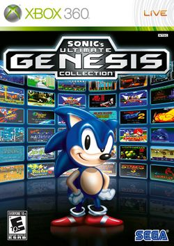 Box artwork for Sonic's Ultimate Genesis Collection.