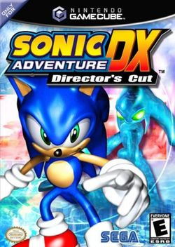 Box artwork for Sonic Adventure DX: Director's Cut.