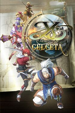 Box artwork for Ys: Memories of Celceta.