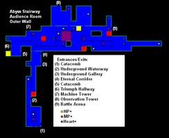 Castlevania CotM map-Audience Room.png