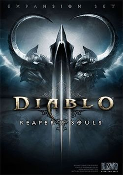 Box artwork for Diablo III: Reaper of Souls.