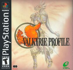 Box artwork for Valkyrie Profile.