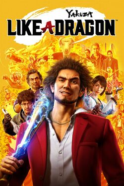Box artwork for Yakuza: Like a Dragon.