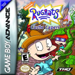 Box artwork for Rugrats: Castle Capers.