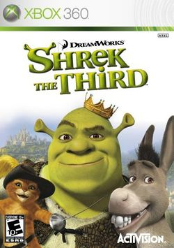 Box artwork for Shrek the Third.