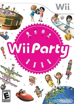 Box artwork for Wii Party.