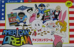 Box artwork for American Dream.