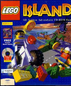 Box artwork for LEGO Island.