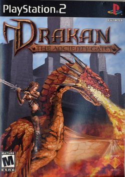 Box artwork for Drakan: The Ancients' Gates.