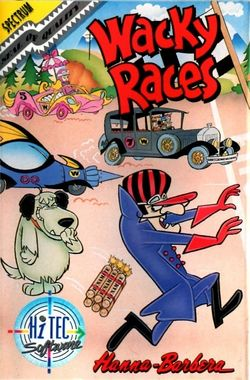 Box artwork for Wacky Races.