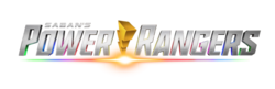 The logo for Power Rangers.