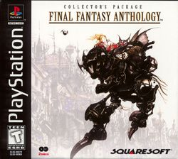 Box artwork for Final Fantasy Anthology.