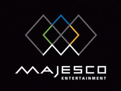 Majesco Entertainment's company logo.