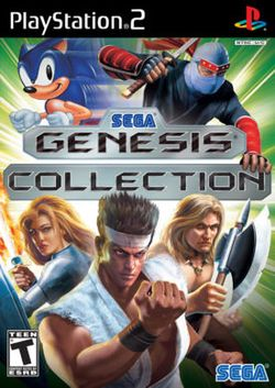 Box artwork for Sega Genesis Collection.
