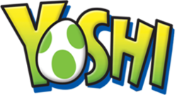 The logo for Yoshi.