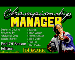 Box artwork for Championship Manager: End of Season Edition.