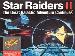Box artwork for Star Raiders II.