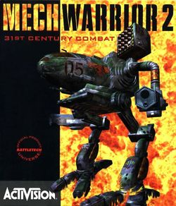 Box artwork for MechWarrior 2: 31st Century Combat.