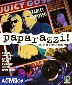 Box artwork for Paparazzi! Tales of Tinseltown.