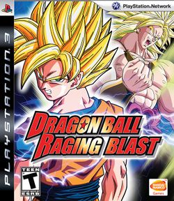 Box artwork for Dragon Ball: Raging Blast.
