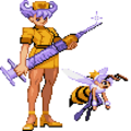 Darkstalkers Q-Bee transforms.png