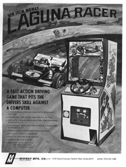 Box artwork for Laguna Racer.