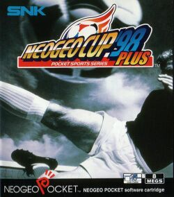Box artwork for Neo Geo Cup '98 Plus.