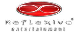 Reflexive Entertainment's company logo.