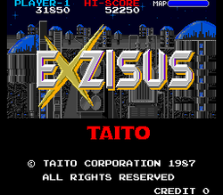 Box artwork for Exzisus.