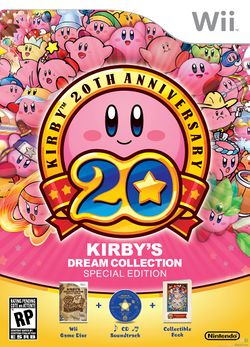 Box artwork for Kirby's Dream Collection: Special Edition.